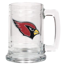 Arizona Cardinals 15 oz. Glass Mug