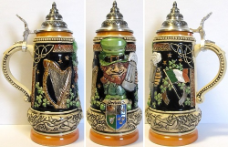 Ireland LE German Beer Stein .5L Irish Theme