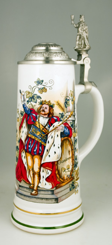 German Beer Stein - Gambrinus