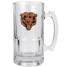 Chicago Bears Large Glass Mug