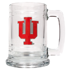 Indiana Hoosiers Glass Mug