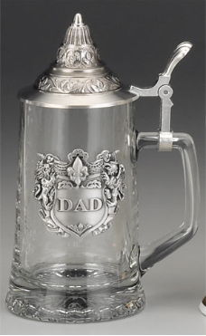 Dad Glass Stein