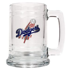 Los Angeles Dodgers 15 oz. Glass Mug