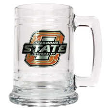 Oklahoma State Cowboys Glass Mug