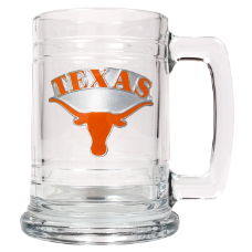 Texas Longhorns Glass Mug