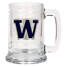 Washington Huskies Glass Mug