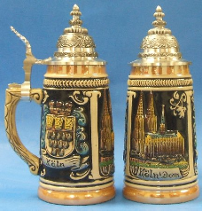 German Beer Stein  - Koln