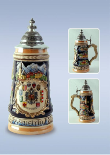 German Beer Stein - Austria .5L