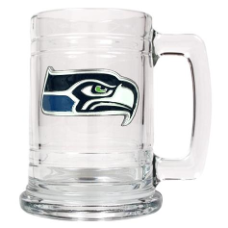 Seattle Seahawks 15 oz.  Glass Mug