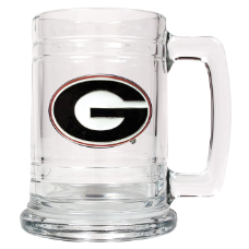 Georgia Bulldogs Glass Mug