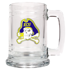 East Carolina Pirates Glass Mug