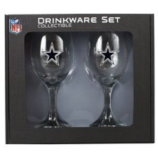 Dallas Cowboys Wine Glass Set