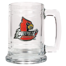 Louisville Cardinals Glass Mug