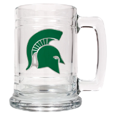 Michigan State Spartans Glass Mug