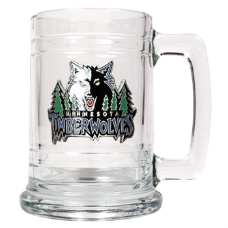 Minnesota Timberwolves 15 oz.  Glass Mug