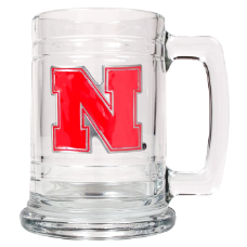 Nebraska Cornhuskers Glass Mug