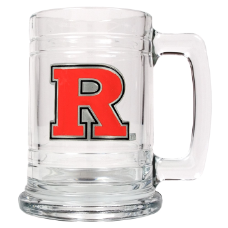 Rutgers Scarlet Knights Glass Mug