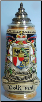 Liechtenstein & Vaduz Castle -LE- German Beer Stein .5L