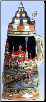 Budapest Parliment Building LE Beer Stein .25L