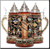 German Beer Stein - LE - 12 Days of Christmas Stein .75L