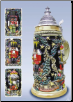Nutcracker Suite Christmas LE German Beer Stein 1/2L