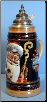 German Christmas Beer Stein - LE - Old World Santa .5L