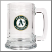 Oakland Athletics 15 oz. Glass Mug