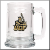 University of Central Florida Knights Glass Mug
