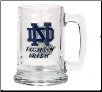 Notre Dame Fightin Irish Glass Mug