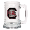 South Carolina Gamecocks Glass Mug