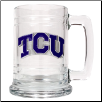 Texas Christian Horned Frogs Glass Mug