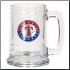 Texas Rangers 15 oz. Glass Mug