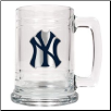 New York Yankees 15 oz. Glass Mug