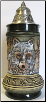 Wolf with Paw Prints -LE- German Beer Stein .5L