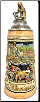 Cities Along the Rhein River with Lorely Pewter Lid LE German Beer Stein .5 L