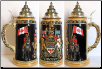German Beer Stein - LE - Canada Royal Coat of Arms .75L