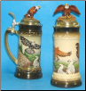 German Beer Stein - LE - Bald Eagle .5L