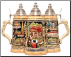 German Beer Stein - LE - Black Forest .5L