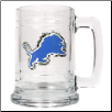 Detroit Lions 15 oz. Glass Mug