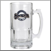 Milwaukee Brewers Oversized Glass Beer Mug