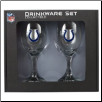 Indianapolis Colts Wine Glass Set