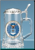 Glass Beer Stein - US Air Force