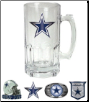 Dallas Cowboys Large Glass Mug