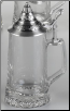 Glass Stein w/Removable Lid